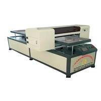 Leather products color printing machine