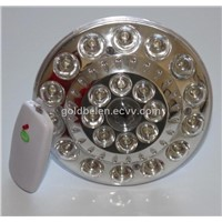 Led rechargeable emergency bulb