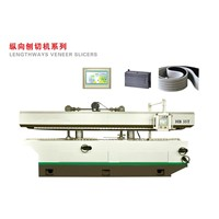 Lengthways veneer slicers