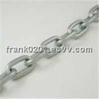Link Chain With White Galvanized (DIN5685A)