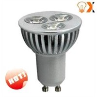 Low Energy 3W GU10 Indoor LED Spot Light Bulbs 2800k - 7500k, 59mm * 50mm (H*W)