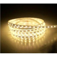 Low power consumption 14.4W 12V White color 5500 - 6500K SMD flexible led strip lights