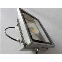 Low voltage IP65 100W 120W AC 90 - 240V, commercial led flood light fixture 90 - 100lm / W