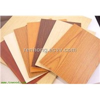 Melalmine Faced MDF Board