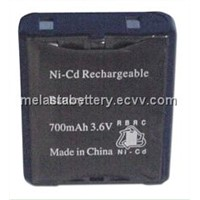 Melasta NiCd AA 3.6V 700mAH Rechargeable Battery pack
