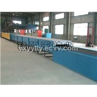 Mesh belt type glass  decorating furnace