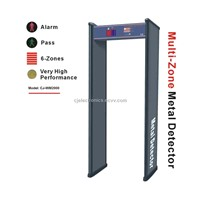 Zone Walk through Metal Detector (CJ-WM2000)