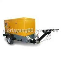 Mobile Diesel Generator Set with Sound-resistant Box Housing and Current Transformers