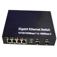 NF-SG2004 Series Four Ports 10/100/1000m Ethernet Optical Fiber Switch