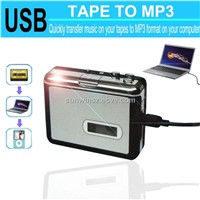 New Tape to PC uSB Cassette-to-Mp3 Converter Captuer Audio Musci Player
