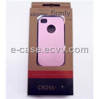 Newest Design High Quality Chrome Hard Case For Iphone  4G 4Gs