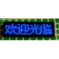 P1.85 12*36 bule led business card
