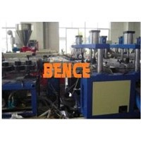 PP/PE/PMMA/PPS/ABS board extruding machine