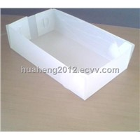 PP corrugated plastic tray