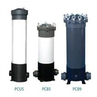 PVC Cartridge Filter Housing
