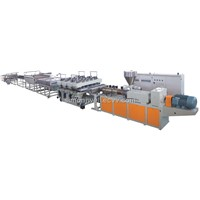 PVC Skinning/Semi-Skinning Foaming Board Extrusion Line/Co-Extrusion Foaming Board Extrusion Line