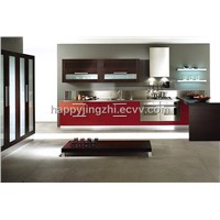 PVC mdf kitchen cabinet
