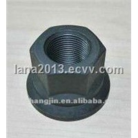 Phosphated grey hex nut