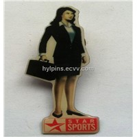 Picture Printing Lapel Pin