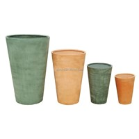 Plain round flower pot(SFT8004)