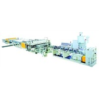 Plastic Hollow Gid Plates Extrusion Line