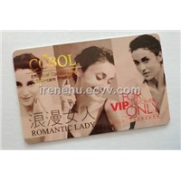 Plastic VIP / Preferred Customer Card