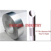 Polypropylene Coated and Perforated Aluminium Strip for PPR Stable Pipe / Aluminium Pipe