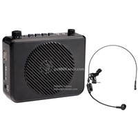 Portable Speech Amplifier with USB/TF slot FM radio