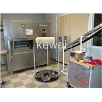 Puffed Fruit Drying Machine (Microwave Revolving Vacuum Drying Machine) China manufacturer