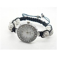 Quality Shamballa Watch Bracelet Czech Crystals Disco Balls
