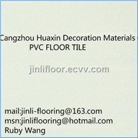 Quartz floor tile