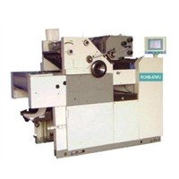 RCHM470PJ-SMS/SMNP (added NP system) 2 Color Continuous Form Perfecting Press