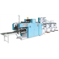RCHM-TRS470 Continuous  Form Roll Collating Gluing Machine