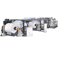 Register mark tacking paper roll sheeter paper converting equipment