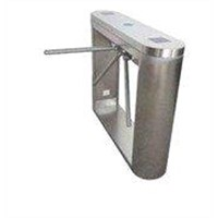 Rustproof security turnstile gate with IC, fingerprint control for view spot, exhibition