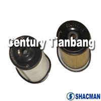 SHACMAN SPARE PARTS (614080739+614080740)FUEL FILTER