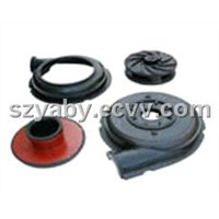 Sell Slurry pump spare parts