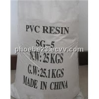 Sell rubber and plastic raw material  PVC resin SG5