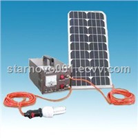 Solar Power System for home lighting