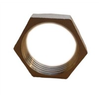 Stainless Steel Pipe Hexagonal Locknut / Casting
