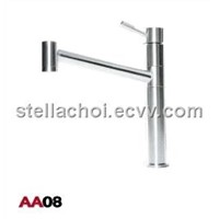 Stainless Steel Round Faucet Mixer Tap