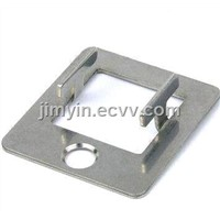 Stainless Steel Stamping Bracket, Made by Progressive Die