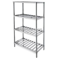 Stainless Steel Storage Shelf (T-bar type)