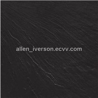 Super Black Full Body Porcelain Slate Tile