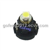 T3 12 Volt Vehicles / Boat Dashboard LED Bulbs with 1 SMD / 3528 SMD