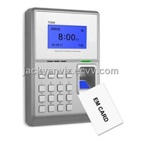 TC550 RFID & Fingerprint Time Attendance and Access Control