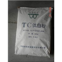 Titanium Dioxide Rutile Style pigment and painting level