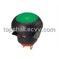 Total plastic momentary switch push button