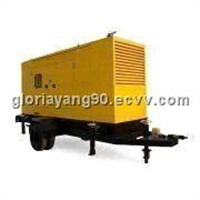Trailer Power Generator with Low Noise and Sound-resistant Feature