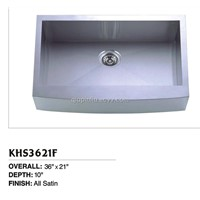 Undermount Single Bowl Handmade Sink of KHS3621F